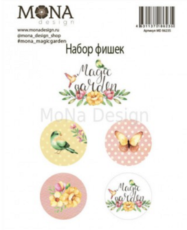 Набор фишек MoNa design  Magic garden